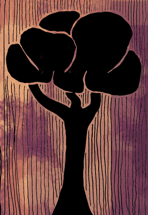 tree-black-and-white-and-orange